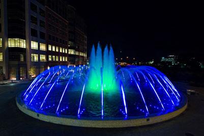 Светодинамические фонтаны