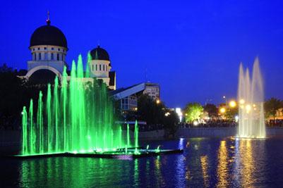 Плавающий фонтан